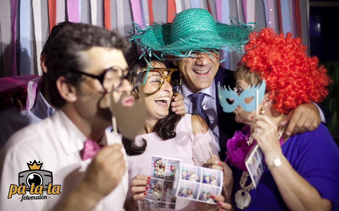¿Qué aporta Pa-ta-ta fotomatón en tu boda?