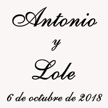 Protegido: Antonio y Lole (6-Octubre-2018)